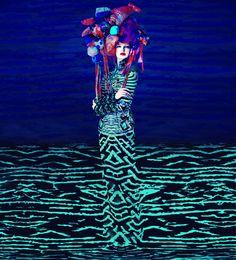 #Mode | #Fashion #Fashion_art | Mary Katrantzou & Erik Madigan Heck : The Surrealist Fashion Ideal