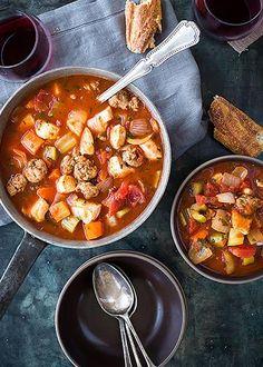 Chicken and Sausage Stew