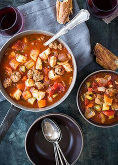 Chicken and Sausage Stew