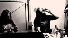 Hier das neue Video zum Song To Become The Weapon von Demonical . Vertreten ist die Nummer auf der aktuellen EP Black Flesh Redemption , die von Frontmann Sverker Widgren produziert und gemastert wurde. Film ab für To Become The Weapon