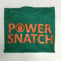 Power Snatch Shirts  Adult Sizes  Shipped FREE by IslandGraphics