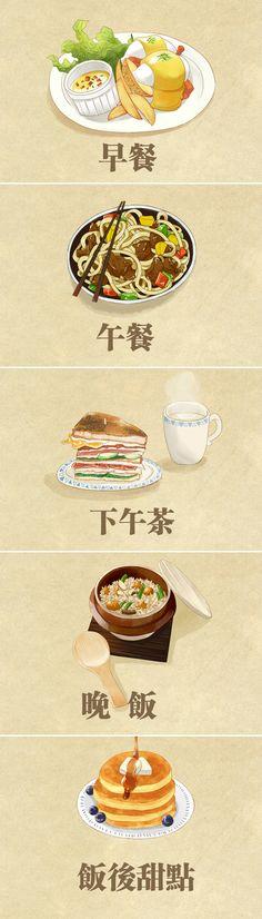 唯有美食与绘画不可辜负-tendy__涂鸦王国插画