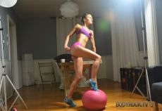 just discovered this website bodyrock.tv. this woman is awesome! She does workouts in her own home and posts videos so you can do the workout too. This website is so cool!