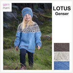 no - Spesialist på islandsk garn Lotus, Winter Hats, Crochet Hats, Design, Fashion, Threading, Model, Moda, La Mode