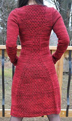 Cabletta Cardigan by Hanna Maciejewska. Could be a dress?