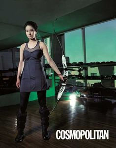 Archery is sexy and fashion in Korea too. Bobae Ki korean olympic champion. Where else the archery is sexy?
