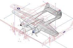 Isometric illustration in progress