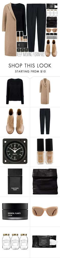 """moving forward..."" by cinnamon-and-cocoa ❤ liked on Polyvore featuring Pink Tartan, Brunello Cucinelli, Thakoon, Butter London, Tom Ford, ADAISM, Koh Gen Do, Kilner and Kat Von D"