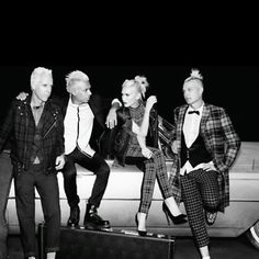 No doubt- they're back. Love, love the new album! Love Gwens' fashion sense too!