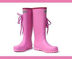 Pink Ladies Wellies