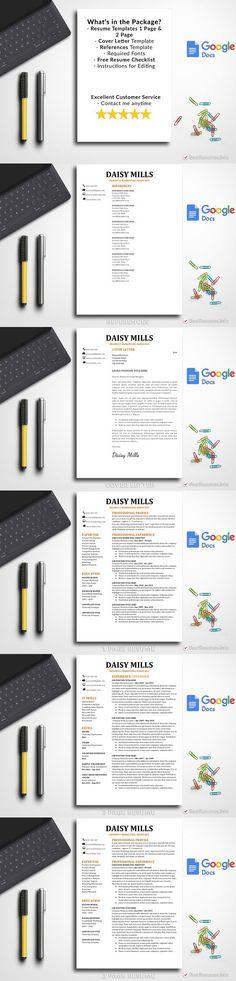 Resume Template Google Docs Simple Resume Templates Pinterest - google docs resume templates