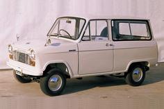 1961-1967 Mazda B360 Van