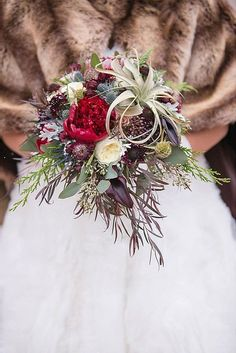 Stunning Winter Wedding Bouquets ❤ See more: http://www.weddingforward.com/winter-wedding-bouquets/ #weddingforward #bride #bridal #wedding
