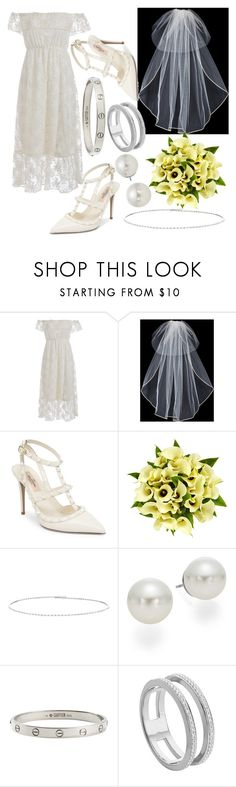 """""""Show your style"""" by northern-queen ❤ liked on Polyvore featuring Vera Wang, Valentino, Fountain, Suzanne Kalan, AK Anne Klein, Cartier and Monica Vinader"""