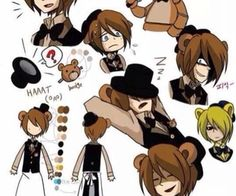 freddy fazbear human - Google Search