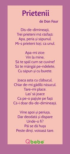 Prietenii Kids Poems, Kids Education, Nursery Rhymes, Art For Kids, Preschool, Language, Parenting, Journal, Songs