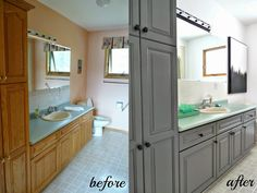 RustOleum Cabinet Transformations vs is free HD Wallpaper. Staining Cabinets, Grey Cabinets, Cabinet Refinishing, Laminate Cabinets, Armoires Diy, Melamine Cabinets, Chalk Paint Kitchen, Rustoleum Chalk Paint, Chalk Paint Cabinets
