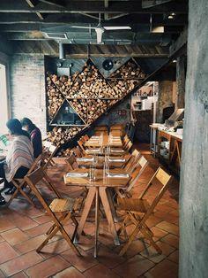 isa brooklyn, NY | A Brown Table