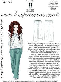 HotPatterns.com - HP 1091 Wong-Singh-Jones Marrakesh Drawstring Pants, $16.95 (http://www.hotpatterns.com/hp-1091-wong-singh-jones-marrakesh-drawstring-pants/)