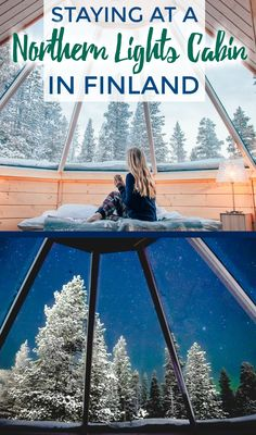 I've always dreamed of staying in a glass roofed Northern Lights cabin or glass igloo in Finland, and this January I finally did it! Click to read all the details on my time there, Northern Lights excursions, winter activities, and tips for the best time to visit.