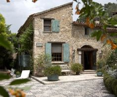 Converted old mill house in the South of France