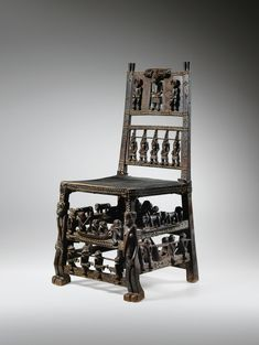 TRÔNE, CHOKWE, ANGOLA | CHOKWE CHAIR, ANGOLA | Arts d'Afrique, d'Océanie, d'Indonésie et des Amériques | Sotheby's Projects To Try, Clock, Carving, Arts, Portugal, Chairs, Collection, Drink Beer, Baboon