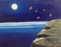 空想/幻想画「夜の響き」[目黒美希] | ART-Meter