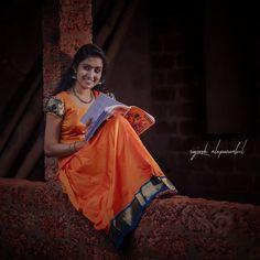 Couple Photoshoot Poses, Wedding Photoshoot, Cute Girl Poses, Cute Girls, Kerala Saree, Girl Reading, Beautiful Girl Image, Power Girl, Bridal Dresses