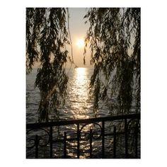 Sonnenuntergang - Sunset Postkarte