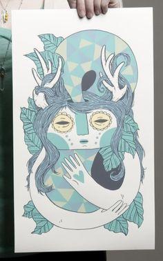 Antlers Print - Small Talk Studio