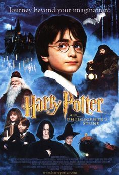HARRY POTTER AND THE PHILOSOPHER'S STONE (2001): Rescued from the outrageous neglect of his aunt and uncle, a young boy with a great destiny proves his worth while attending Hogwarts School of Witchcraft and Wizardry.