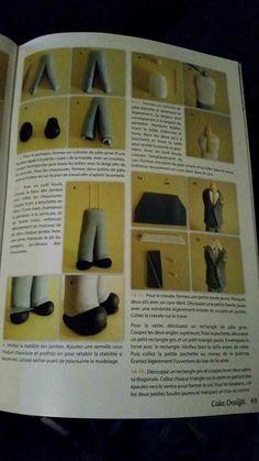 Bride Groom fondant tutorial part 4