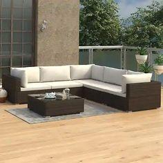 Záhradné sety – až 1067 záhradných sedačiek a zostáv pre vás | Biano Outdoor Sofa, Outdoor Furniture Sets, Outdoor Decor, Ensemble Patio, Patio Chairs, Home Decor, Ebay, Environment, Table And Chairs