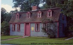 Abigail Adams Birthplace, North Weymouth, Massachusetts was built in 1685. Abigail Smith, wife of Founding Father, John Adams, was born there November 11, 1744.