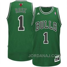 http://www.jordanaj.com/derrick-rose-chicago-bulls-1-stpatricks-day-green-jersey.html DERRICK ROSE CHICAGO BULLS #1 ST.PATRICK'S DAY GREEN JERSEY Only $89.00 , Free Shipping!