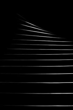 """"""" __` """" by Korhan Kalabak on Fotoblur, Abstract Photography -- Black stairs, presumably; in Turkey, from the tags."""