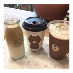 Aesthetic Coffee, Aesthetic Food, Korean Aesthetic, Brown Aesthetic, Eat This, Think Food, Cute Desserts, Cafe Food, Bubble Tea