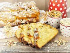 Babiččina vánočka, Granny's Christmas Cake www.peknevypecenyblog.cz Czech Recipes, Polish Recipes, Polish Food, Xmas Cookies, Christmas Sweets, Pavlova, Camembert Cheese, French Toast, Food And Drink