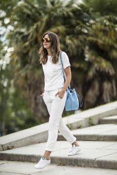 2016 t-shirt: Calvin Klein )  bag: Calvin Klein )  sneakers: Adidas  pants: Mango (s/s 16)
