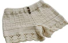 crochet shorts pattern inspiration
