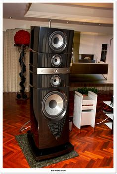 High End Speakers, High End Audio, Hifi Speakers, Sound Speaker, Innovative Ideas, Acoustic Panels, Audiophile, Home Appliances, Tech