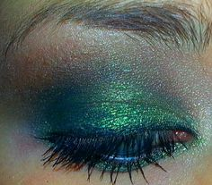 Smokey Green Eye