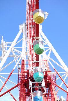 Ferris wheel, Zepp Tokyo, Japan
