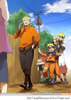 Naruto y sus contrapartes