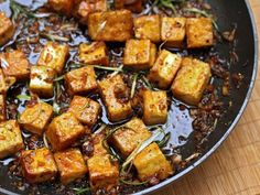Food: Eleven Delish Tofu Recipes  (via Ottolenghi'sBlack Pepper Tofu | Serious Eats )