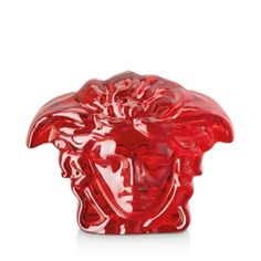 Versace Medusa Lumiere Crystal Paperweight Home - Bloomingdale's Versace Home, Versace Versace, Goth Home Decor, Medusa, Paper Weights, Ceramic Pottery, Lion Sculpture, Greek, Design Inspiration