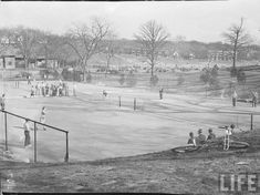 Gillham Park, around 39th and Gillham. 1938