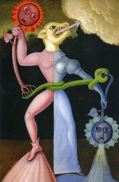 Victor Brauner Victor Brauner (also spelled Viktor Brauner, June was a Romanian Jewish painter of surrealis. Victor Brauner, Expressionist Artists, Expressionism, Max Ernst, Surrealism Painting, Art Brut, Outsider Art, Fantastic Art, Caricature