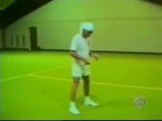 Hey, watch where you'r swinging that racket!  http://wannasmile.com/2015/10/hey-watch-where-your-swinging-that-racket/