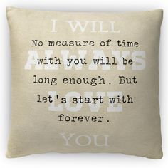 No Measure of Time Fleece Throw Pillow